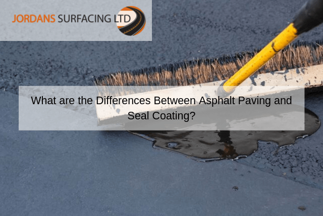 What are the Differences Between Asphalt Paving and Seal Coating_