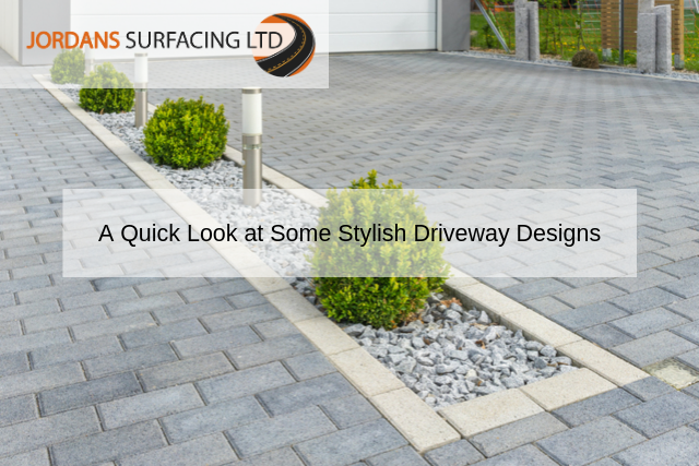 A Quick Look at Some Stylish Driveway Designs