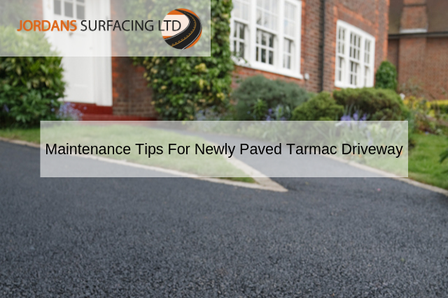 Maintenance Tips For Newly Paved Tarmac Driveway