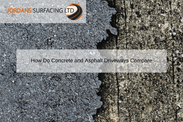 How Do Concrete and Asphalt Driveways Compare