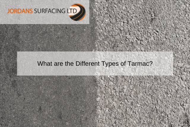 What are the Different Types of Tarmac