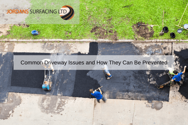 Common Driveway Issues and How They Can Be Prevented