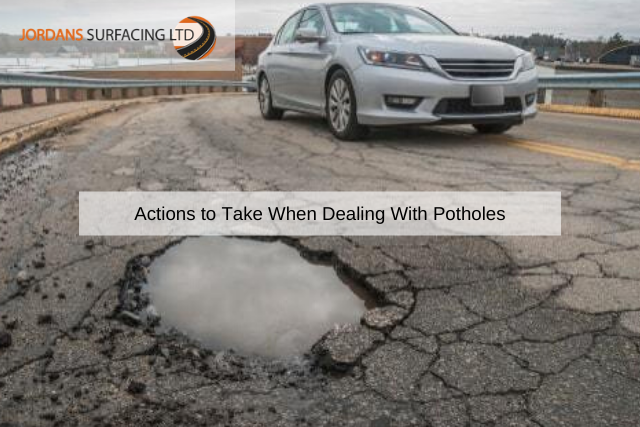 Actions to Take When Dealing With Potholes
