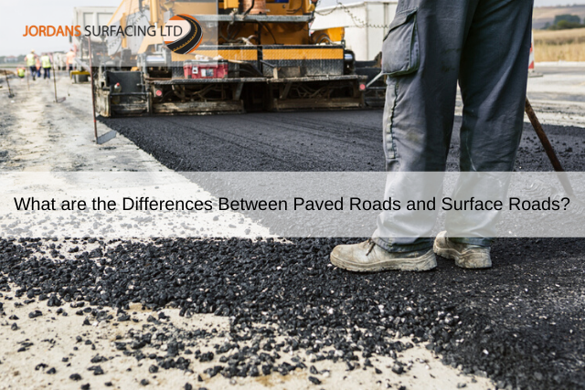 What are the Differences Between Paved Roads and Surface Roads