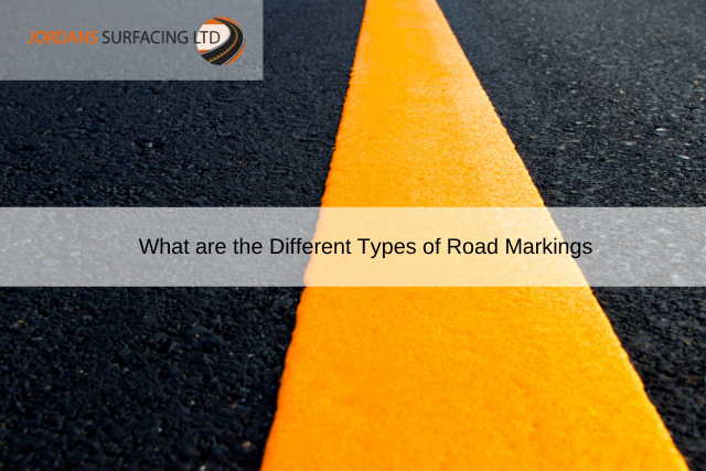 What are the Different Types of Road Markings