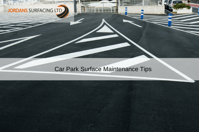 Car Park Maintenance Tips