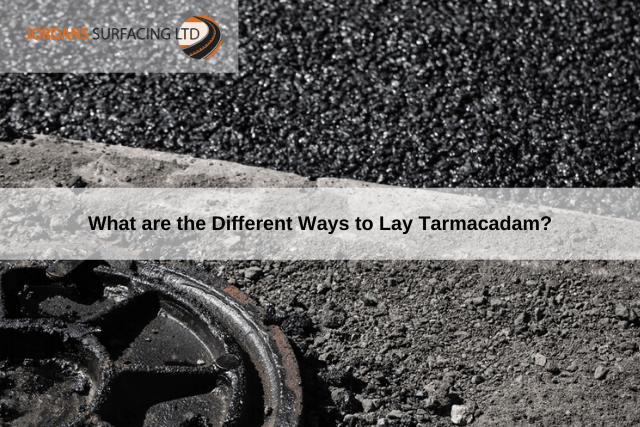 What are the Different Ways to Lay Tarmacadam