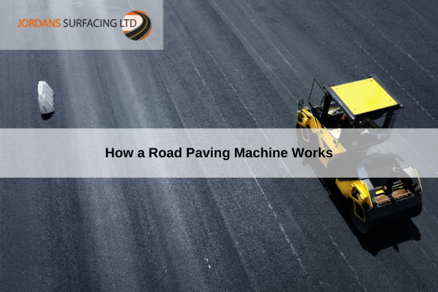 How a Road Paving Machine Works