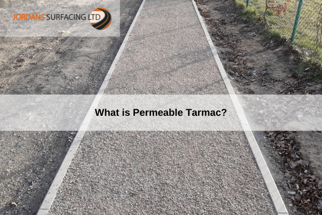 What is Permeable Tarmac_