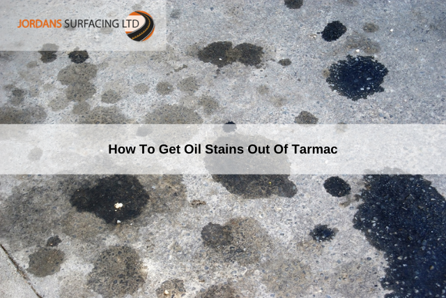 How To Get Oil Stains Out Of Tarmac